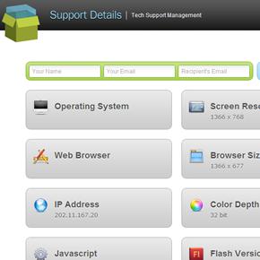 現在のブラウザ環境をパっと確認できる「Support Detail」