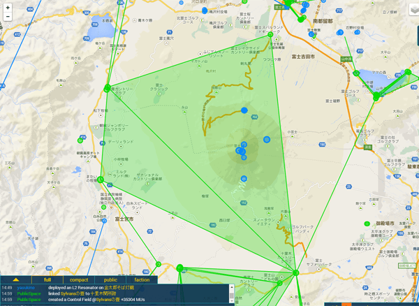 Ingress Intel Total Conversionで見やすくなったIngerss Intel Map